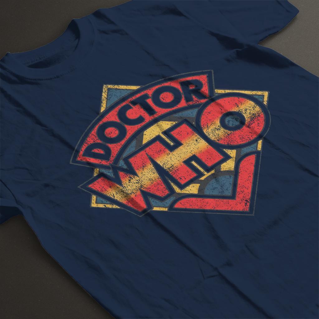 Doctor Who 70s Logo Women/'s T-Shirt