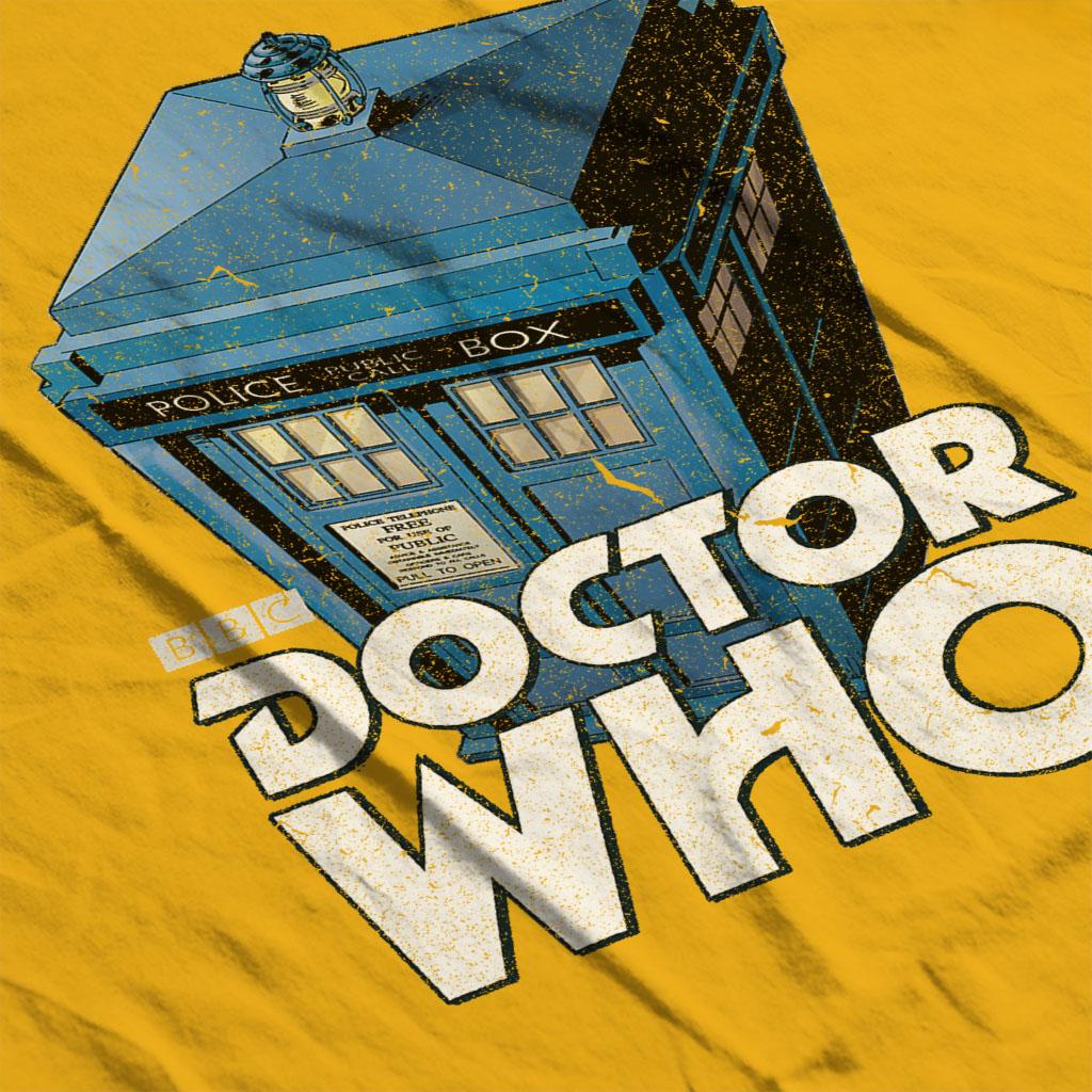 Doctor Who Classic Tardis Kid/'s T-Shirt