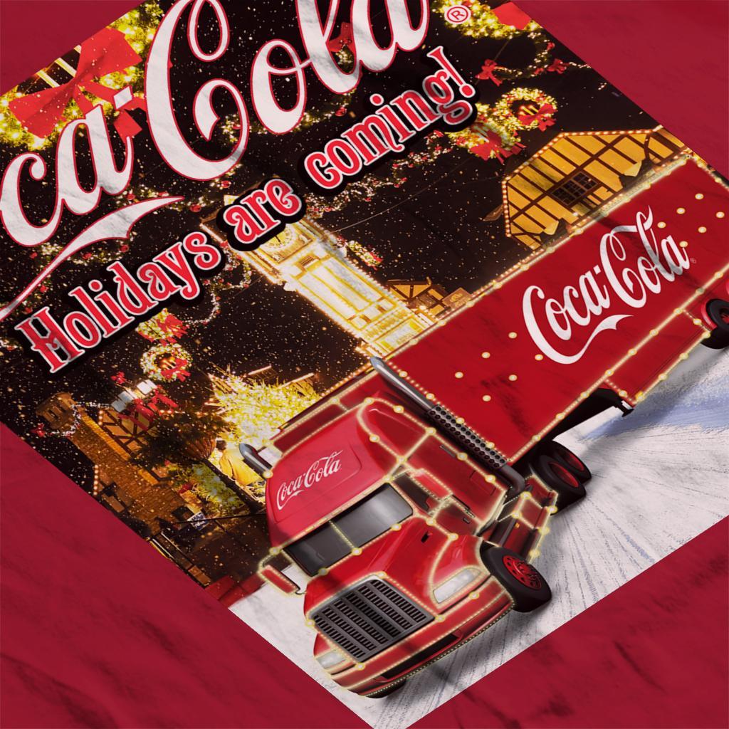 Coca Cola Truck Christmas Market Women/'s T-Shirt