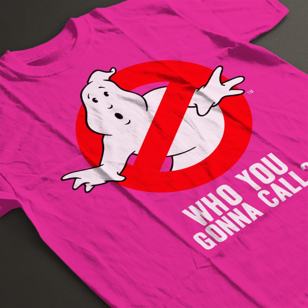Ghostbusters No Ghost Logo Who You Gonna Call Women/'s T-Shirt