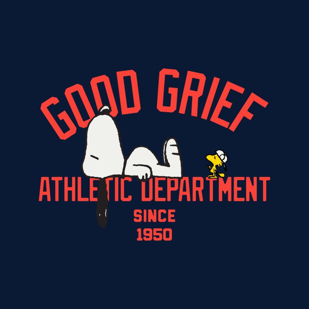 Peanuts bon deuil Athletic Department T-shirt femme