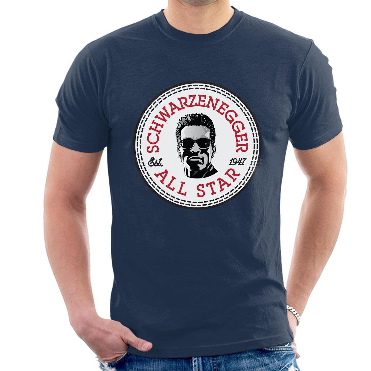 Arnold-Schwarzenegger-All-Star-Converse-Logo-Herren-T-Shirt