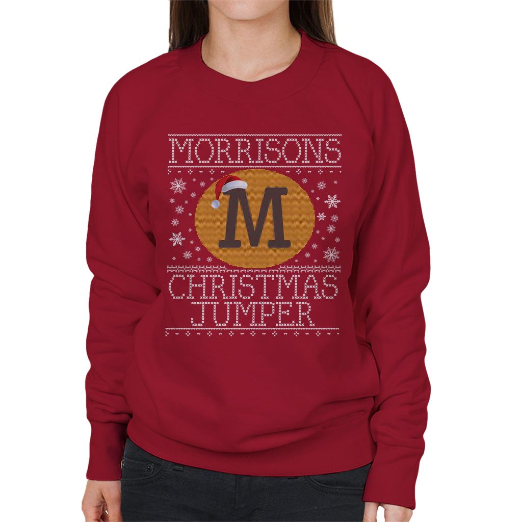 Morrisons christmas jumper knit pattern womens sweatshirt ebay morrisons christmas jumper knit pattern women 039 s bankloansurffo Image collections