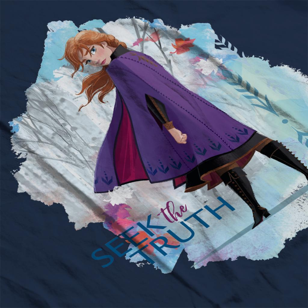 Disney Frozen II Anna Seek The Truth Women/'s T-Shirt