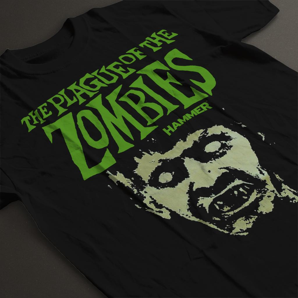 Hammer The Plague Of The Zombies Face Poster Men/'s T-Shirt