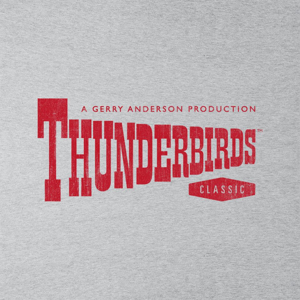 Thunderbirds-Classic-Logo-Men-039-s-T-Shirt miniature 7