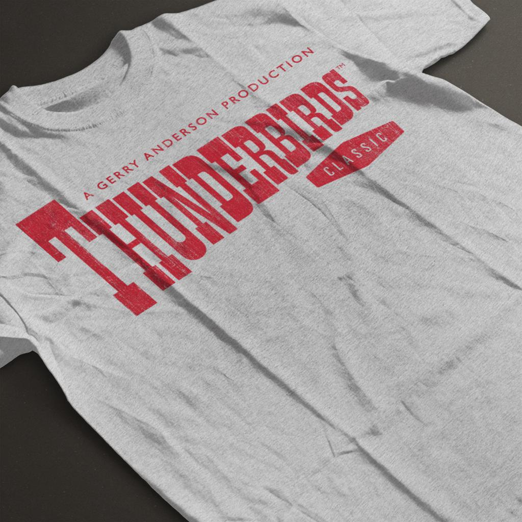 Thunderbirds-Classic-Logo-Men-039-s-T-Shirt miniature 9