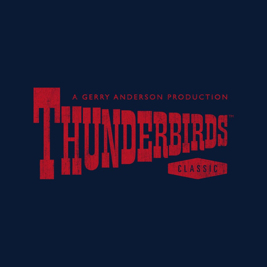 Thunderbirds-Classic-Logo-Men-039-s-T-Shirt miniature 12