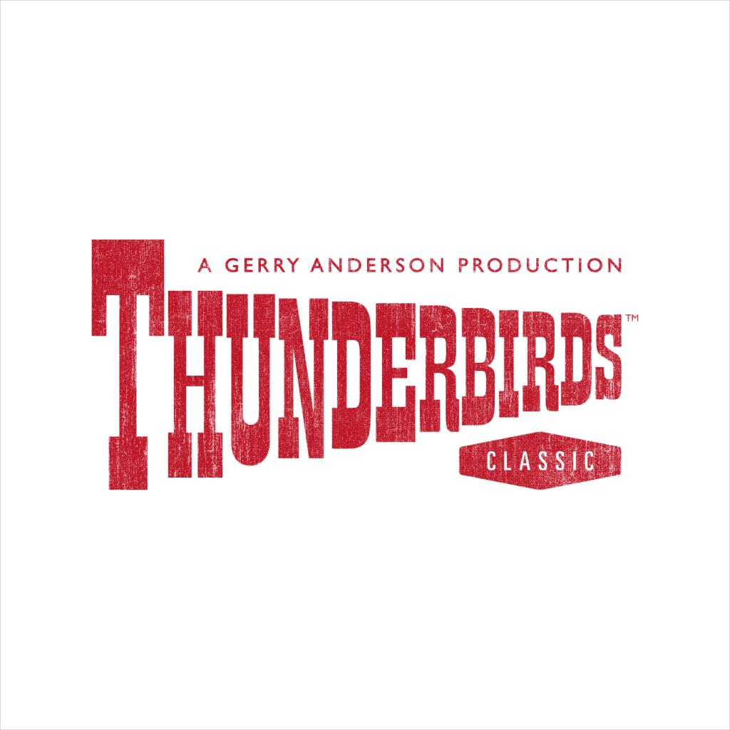 Thunderbirds-Classic-Logo-Men-039-s-T-Shirt miniature 17
