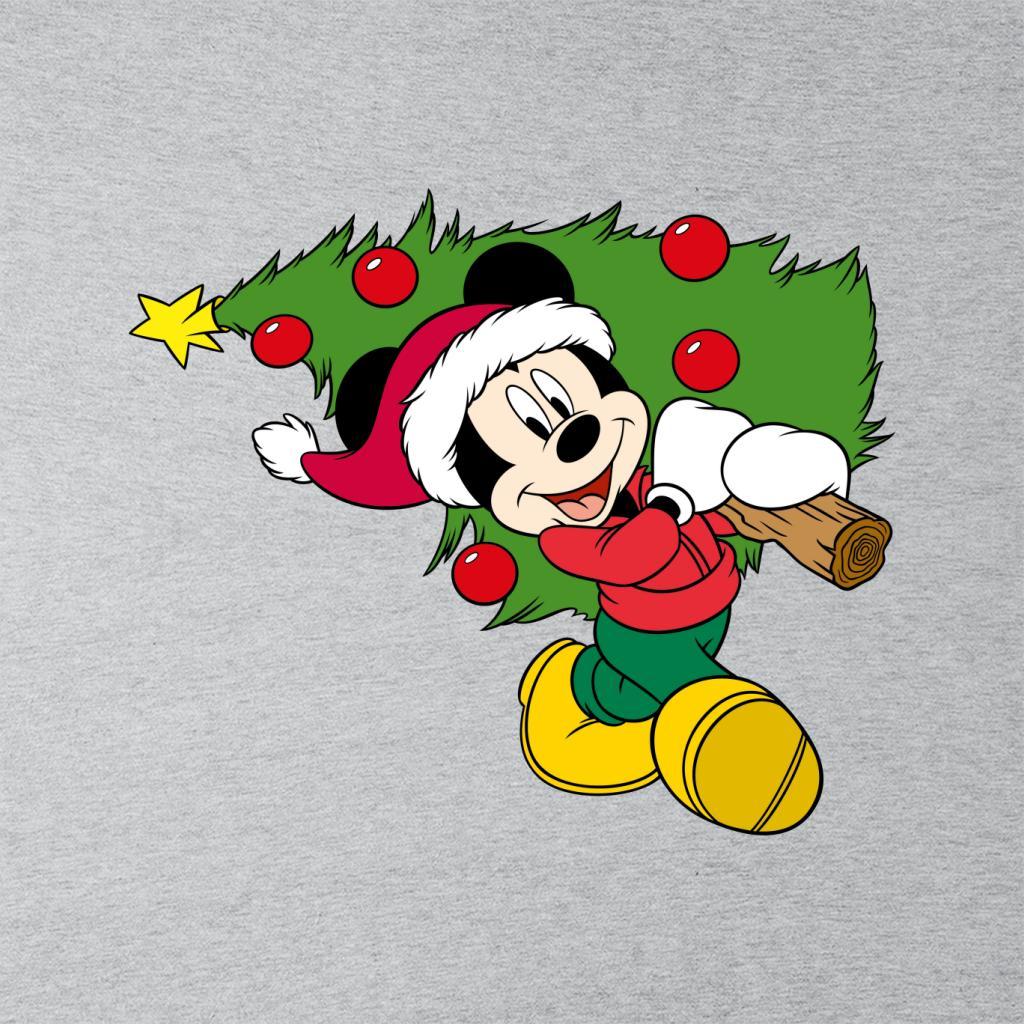 Disney-Christmas-Mickey-Mouse-Christmas-Tree-Women-039-s-T-Shirt thumbnail 7