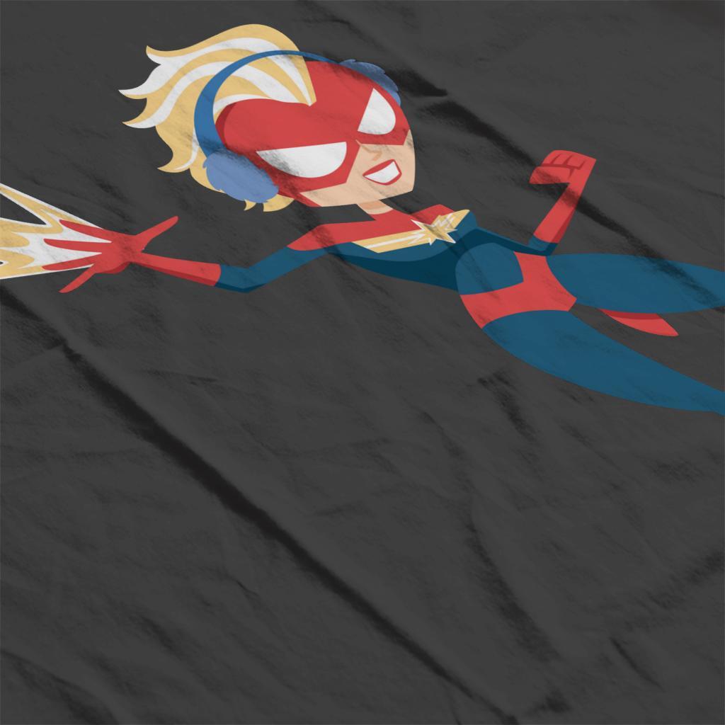 Marvel-Christmas-Captain-Marvel-Winter-Ear-Muffs-Women-039-s-T-Shirt thumbnail 15