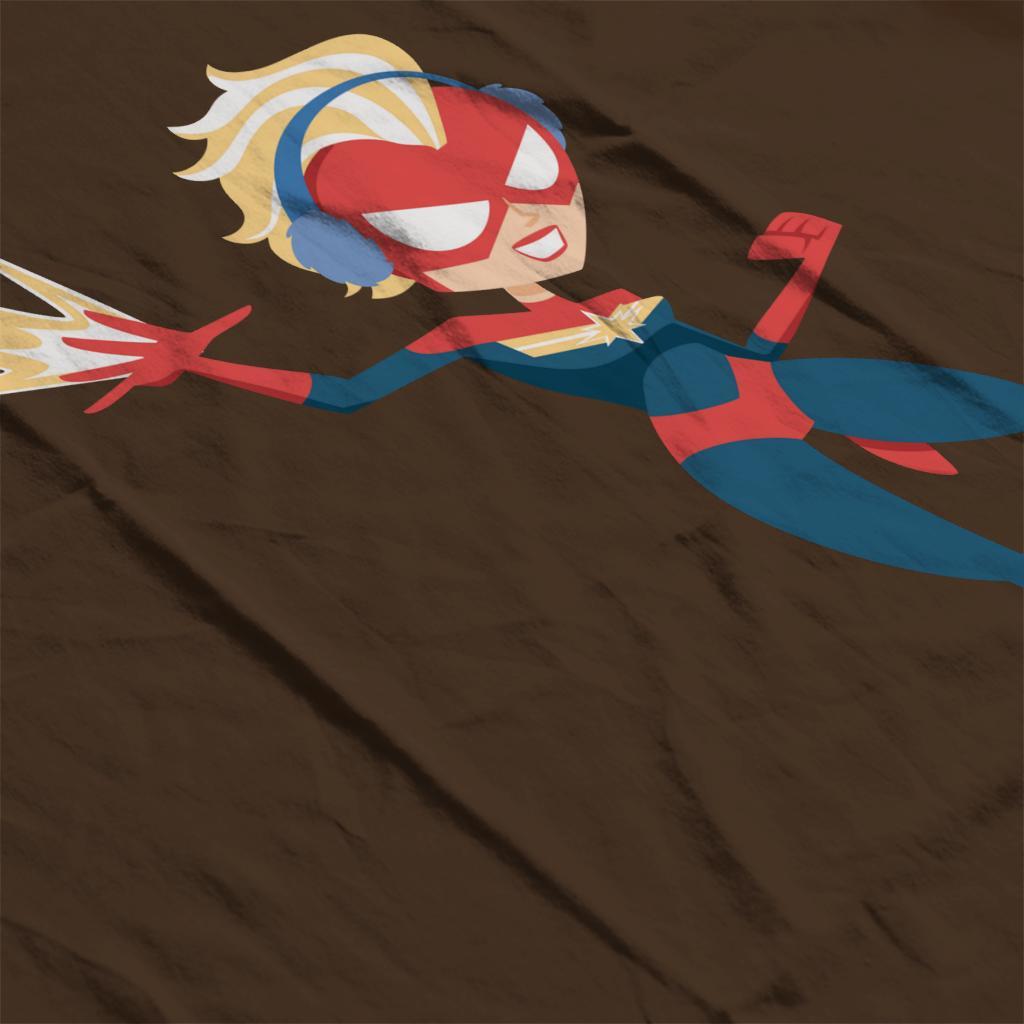 Marvel-Christmas-Captain-Marvel-Winter-Ear-Muffs-Women-039-s-T-Shirt thumbnail 20