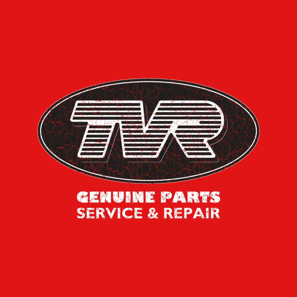 TVR-Genuine-Parts-Men-039-s-T-Shirt miniatuur 12