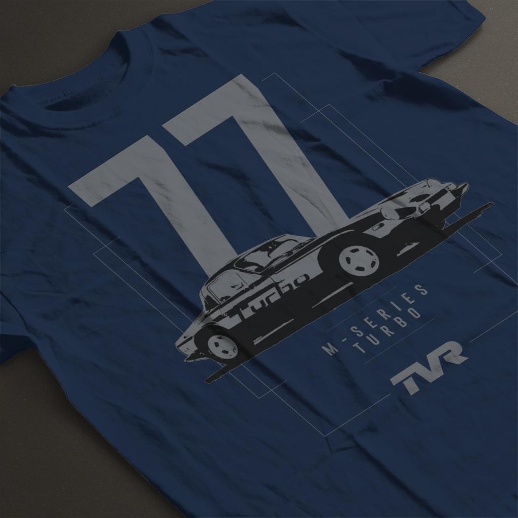 TVR-M-Series-Turbo-Men-039-s-T-Shirt miniatuur 9