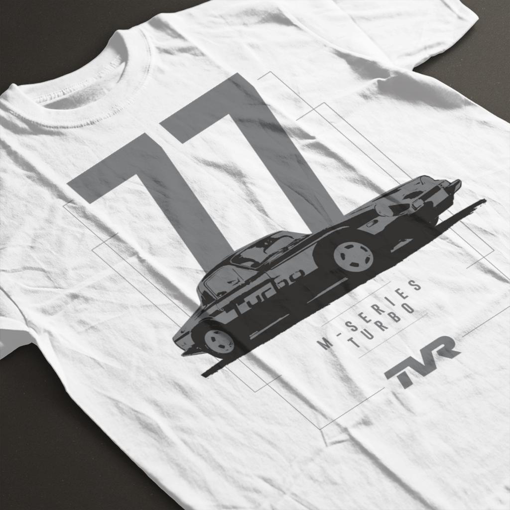 TVR-M-Series-Turbo-Men-039-s-T-Shirt miniatuur 14