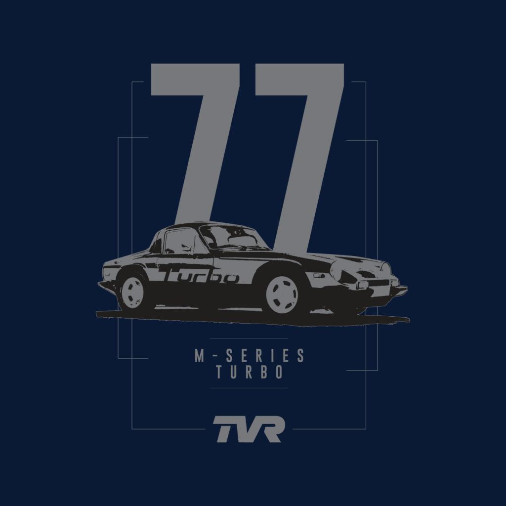 TVR-M-Series-Turbo-Men-039-s-T-Shirt miniatuur 7