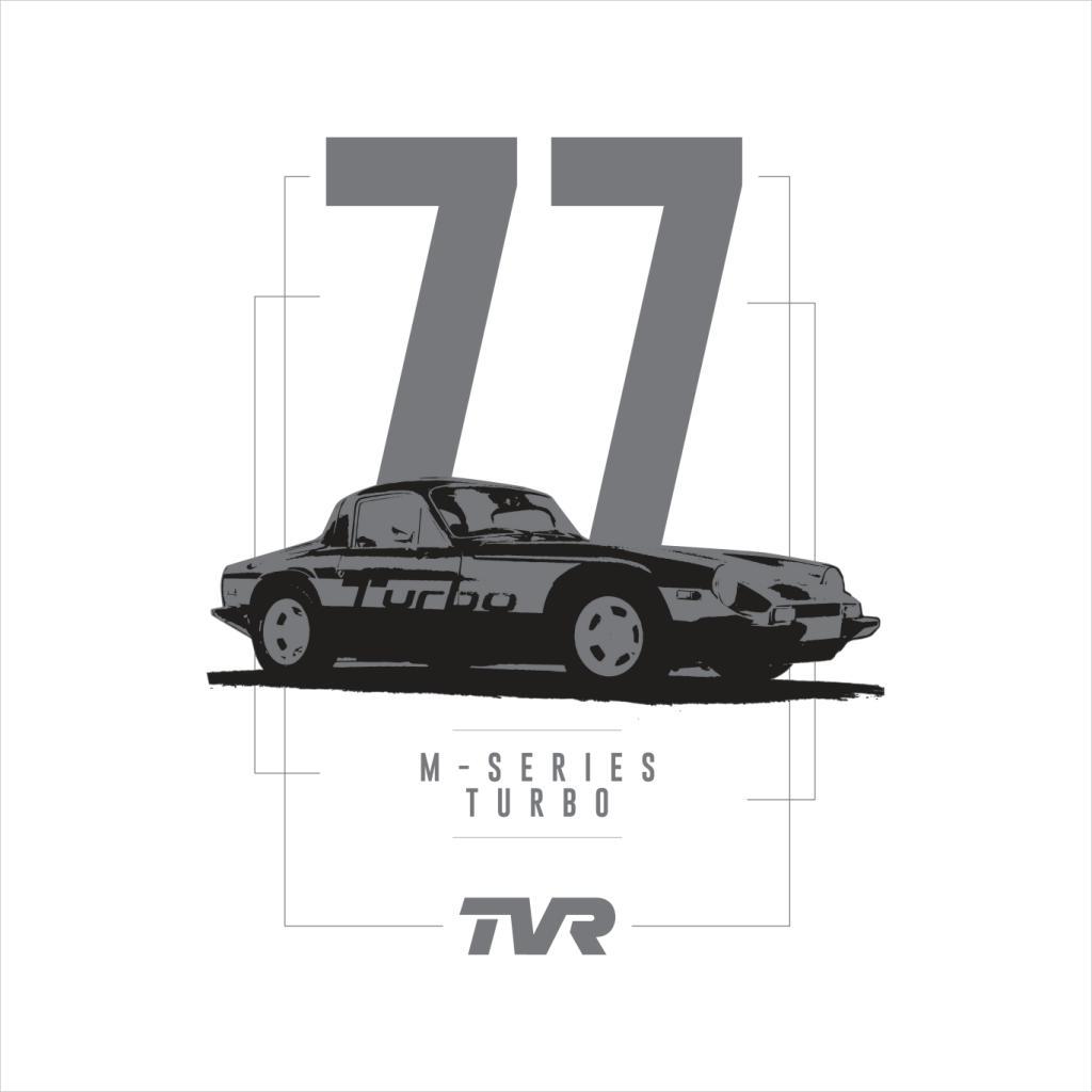 TVR-M-Series-Turbo-Men-039-s-T-Shirt miniatuur 12