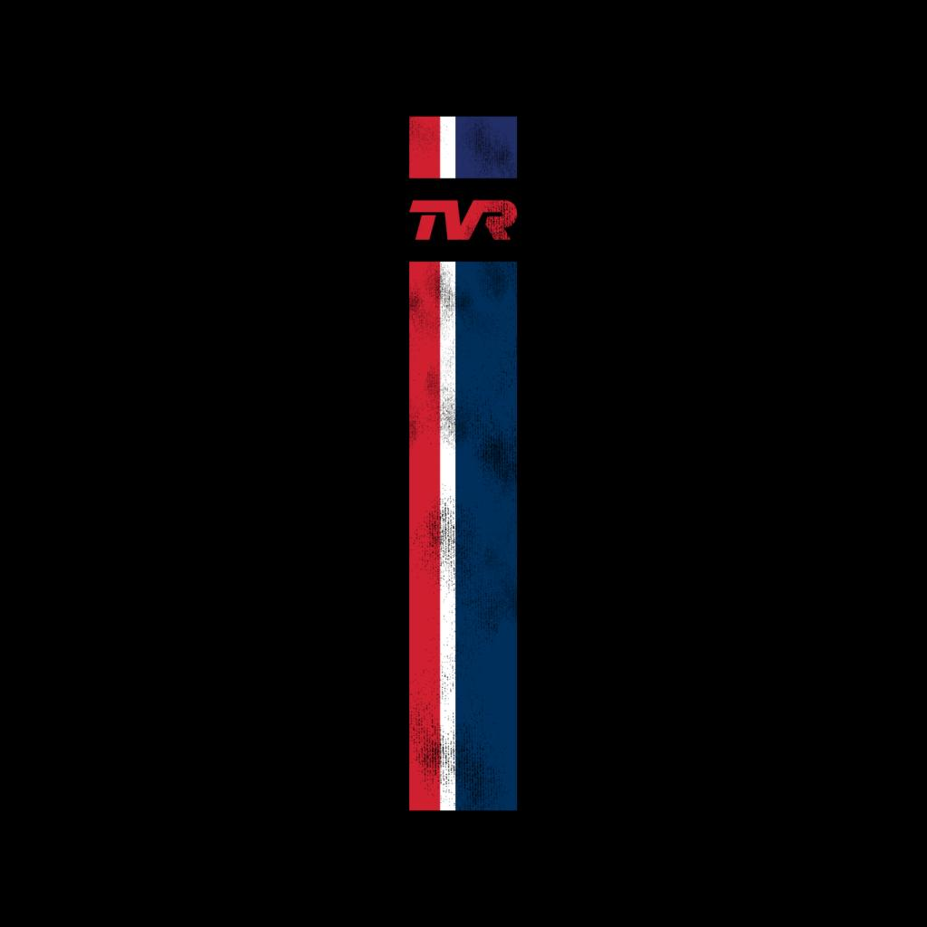 TVR-Logo-Stripes-Men-039-s-T-Shirt miniatuur 7