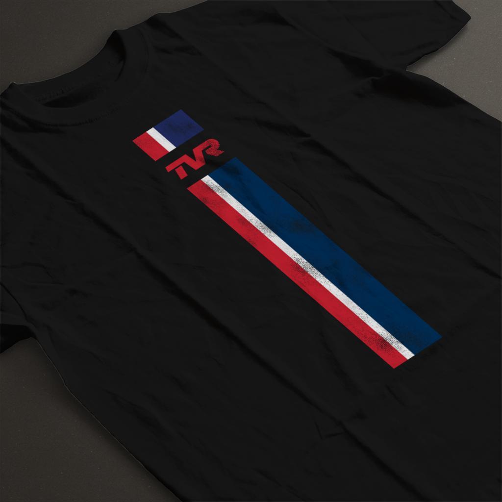 TVR-Logo-Stripes-Men-039-s-T-Shirt miniatuur 9