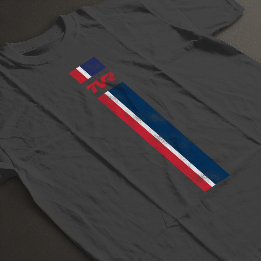 TVR-Logo-Stripes-Men-039-s-T-Shirt miniatuur 14